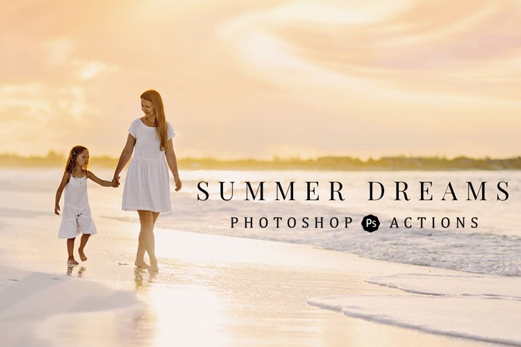 Summer Dreams Photoshop Actions example image 1