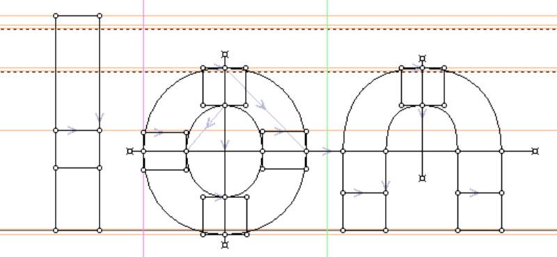 Refined Construction: basic lowercase shapes