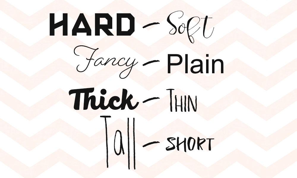 Font Pairing: Contrasting Elements