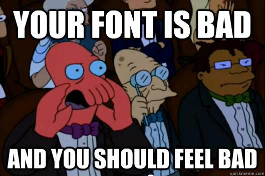 Logo Analysis: Impact, the classic meme font