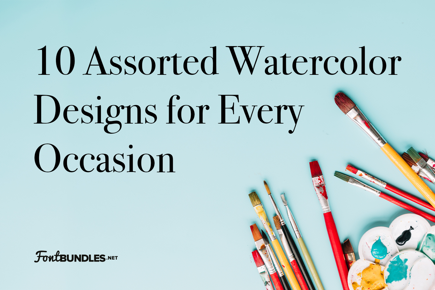 10 Assorted Watercolor Designs for Every Occasion Preview