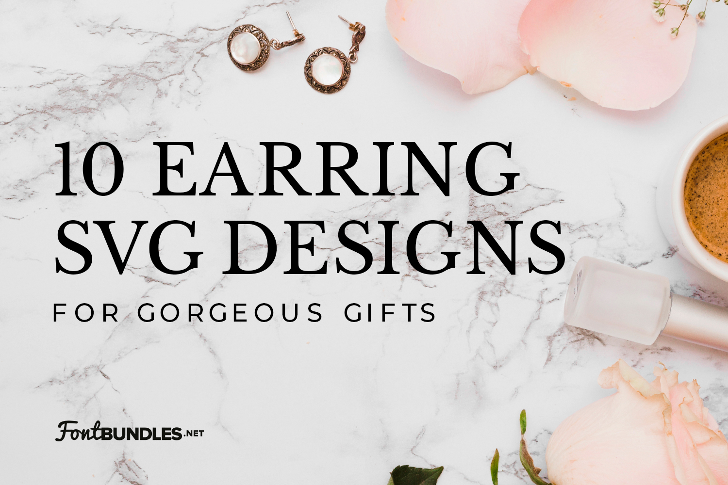 10 Earring SVG Designs for Gorgeous Gifts Preview
