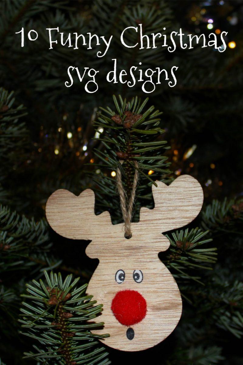 10 Funny Christmas SVG designs