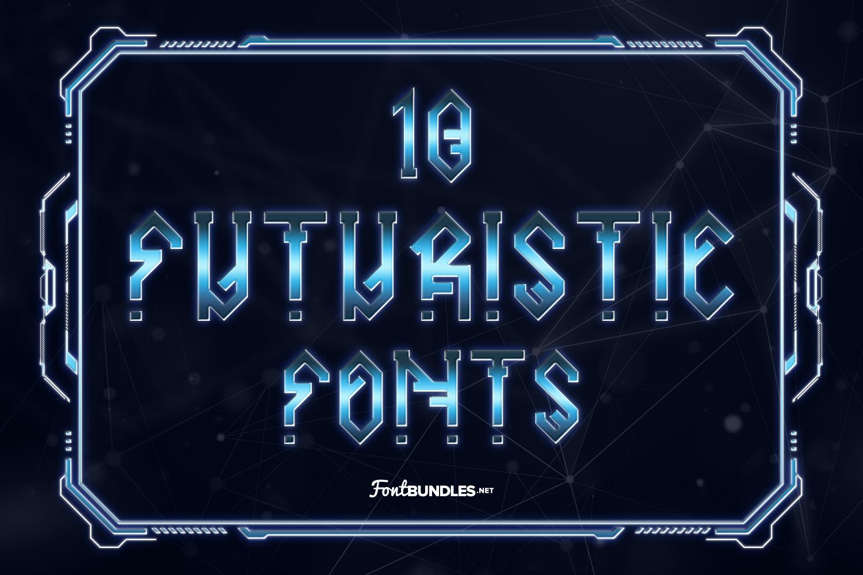 10 Futuristic Fonts Preview