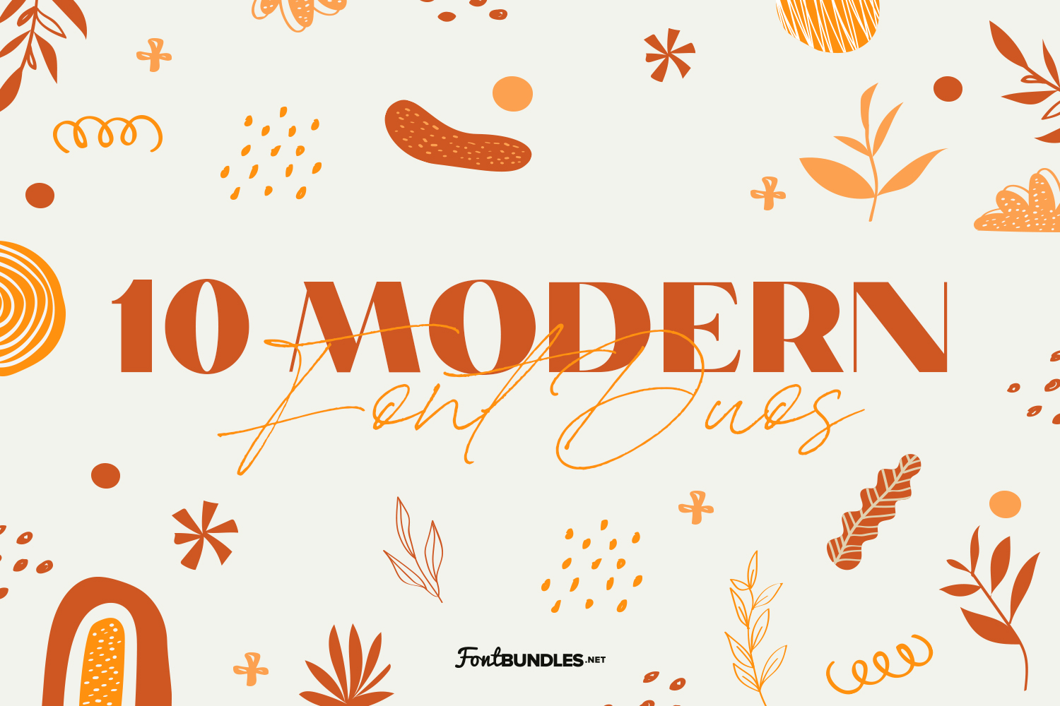10 Modern Font Duos Preview