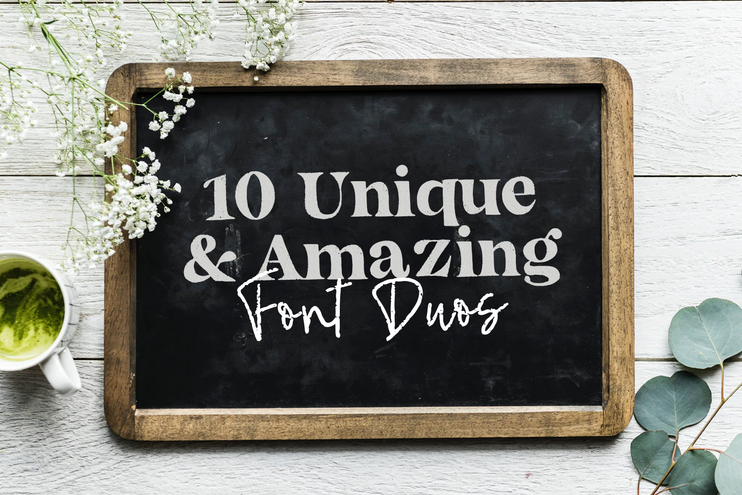 10 Unique and Amazing Font Duos Preview
