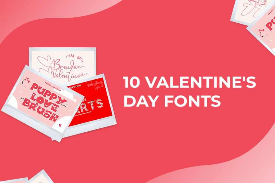 10 Valentine's Day Fonts Preview