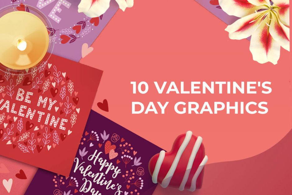 10 Valentine's Day Graphics Preview