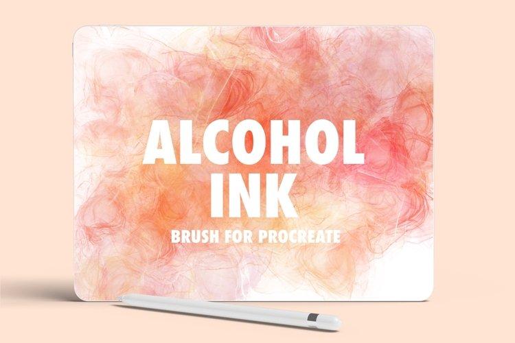 Alcohol Ink Procreate Brush example image 1