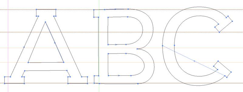 Creating sans: creating a 5th slab serif version