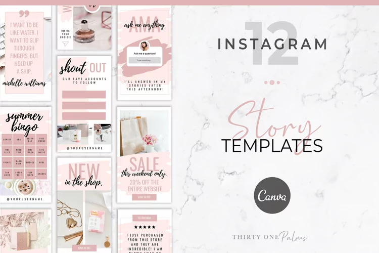 15 Instagram Story Templates To Boost Your Brand 8