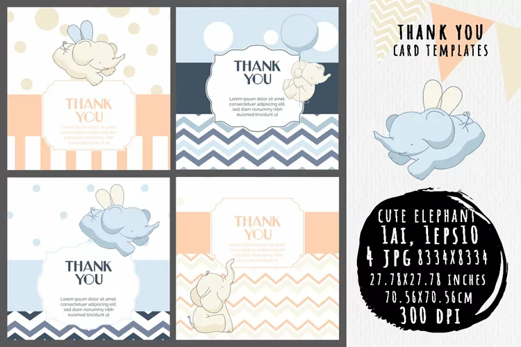 15 Timeless Thank You Card Templates 1