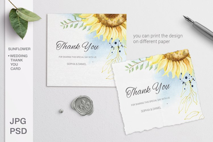 15 Timeless Thank You Card Templates 2