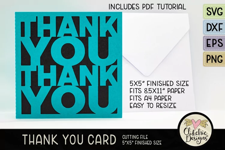 15 Timeless Thank You Card Templates 4