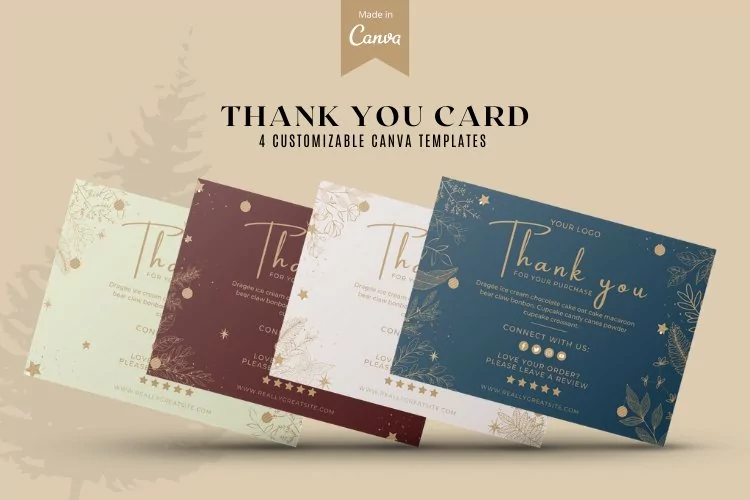 15 Timeless Thank You Card Templates 6