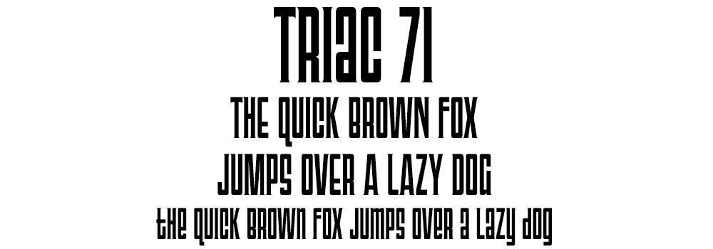 Rare Freebies: Triac 71