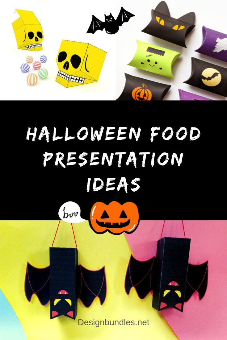 Halloween Food Presentation ideas