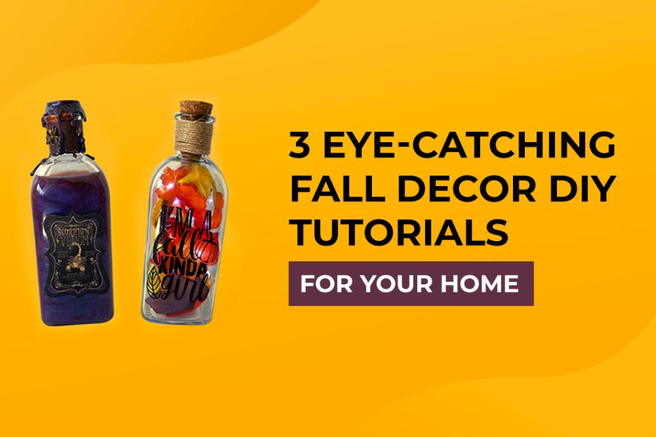 3 Eye-Catching Fall Decor DIY Tutorials for Your Home