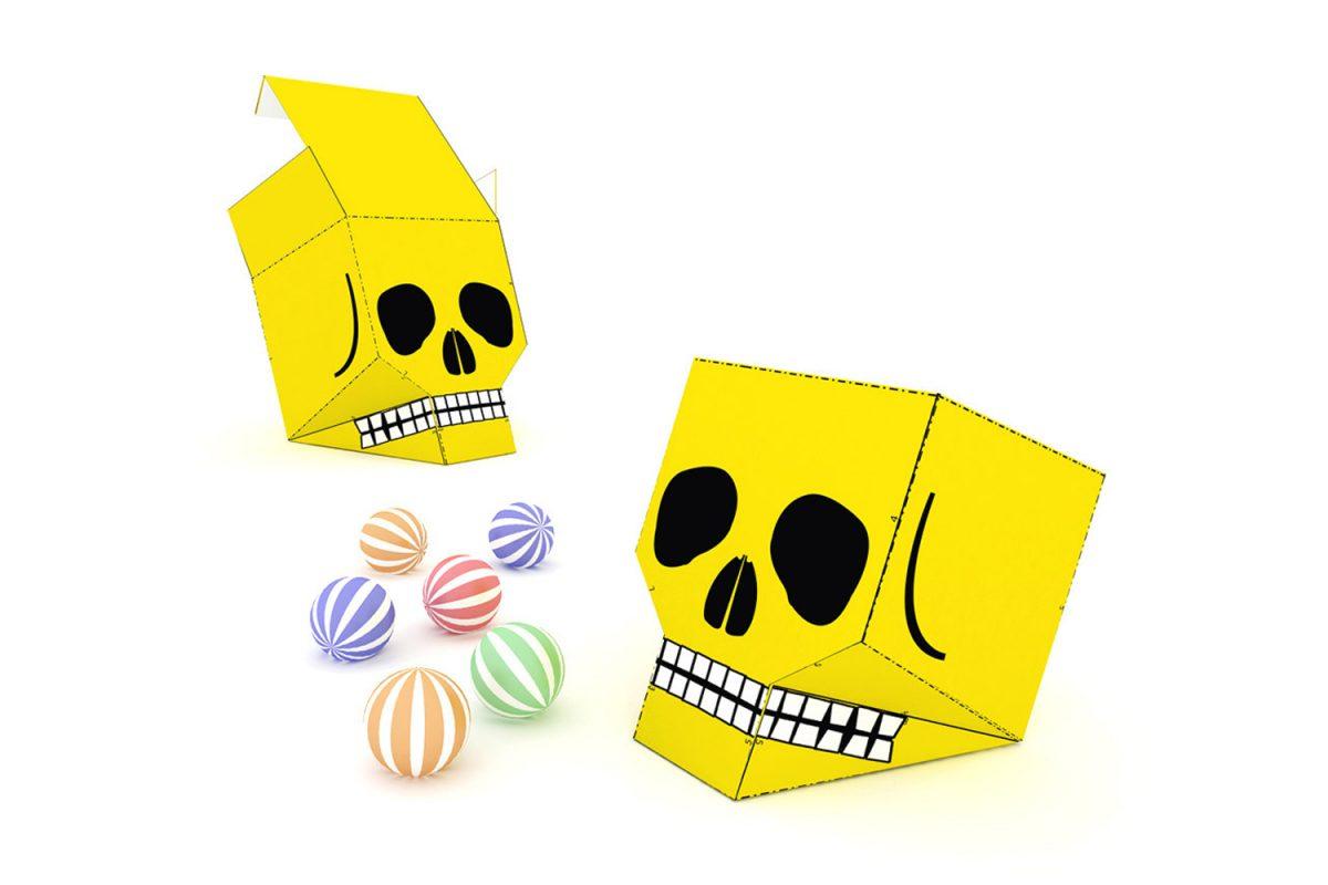 Skull Treat Boxes