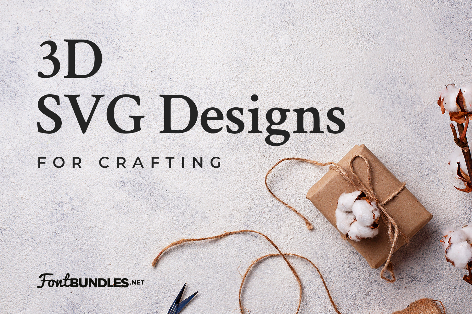 3D SVG Designs for Crafting Preview
