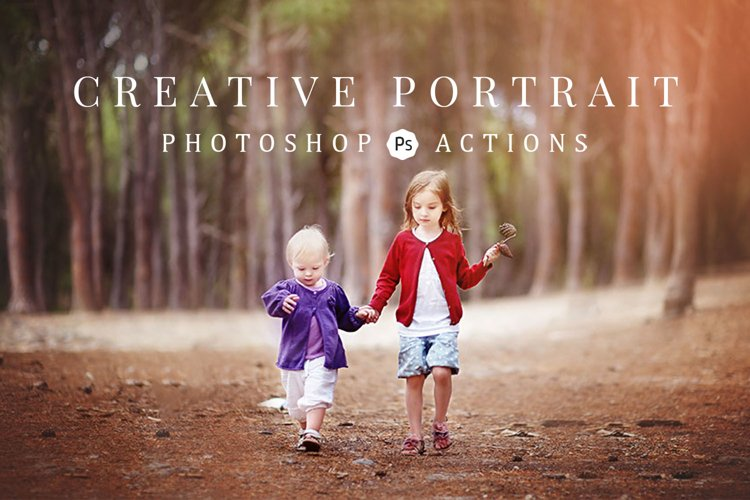 Creative Portrait Photoshop Actions example image 1