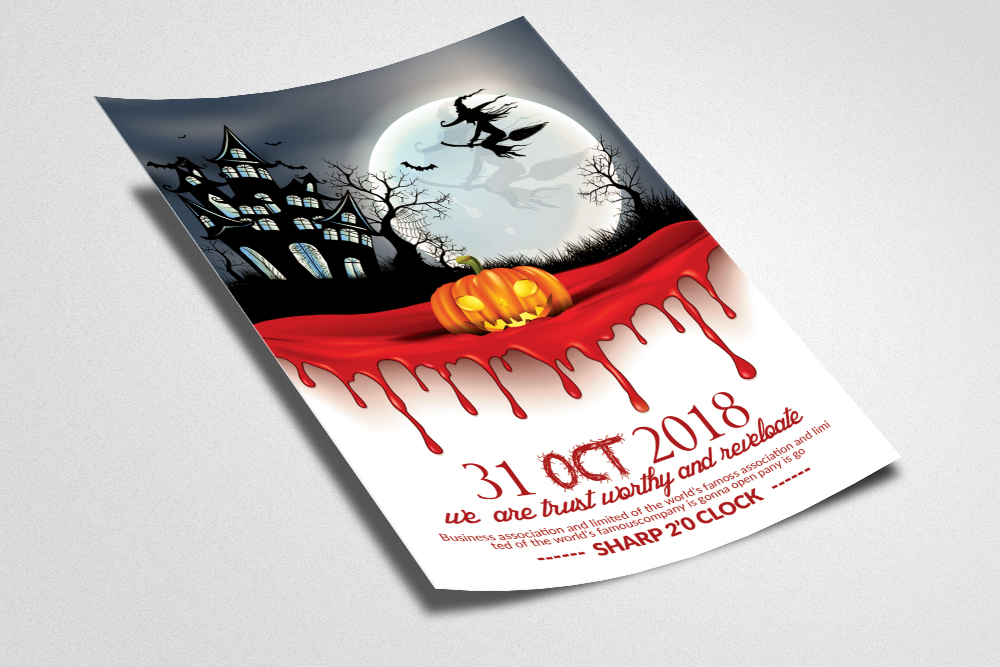 Halloween Invitation design