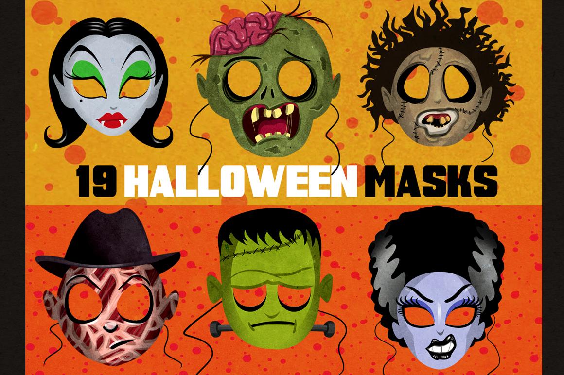 Halloween Masks Printables