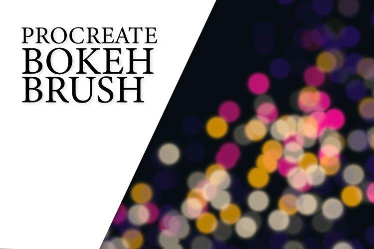 Procreate Brush - Light Bokeh example image 1