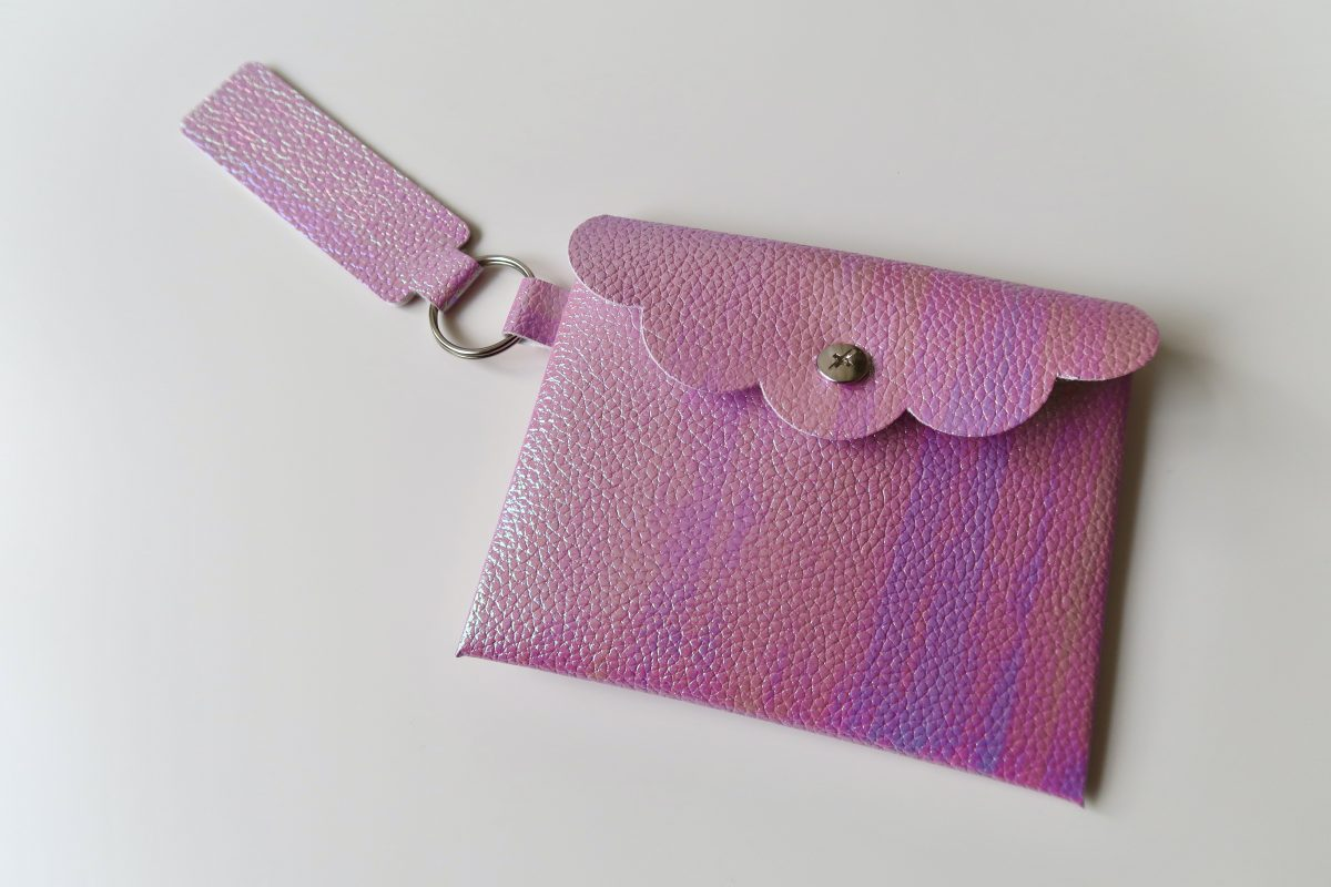 How To Make A No Sew Faux Leather Coin Purse