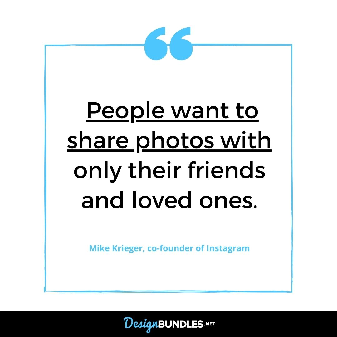 Mike Krieger Quote About Instagram