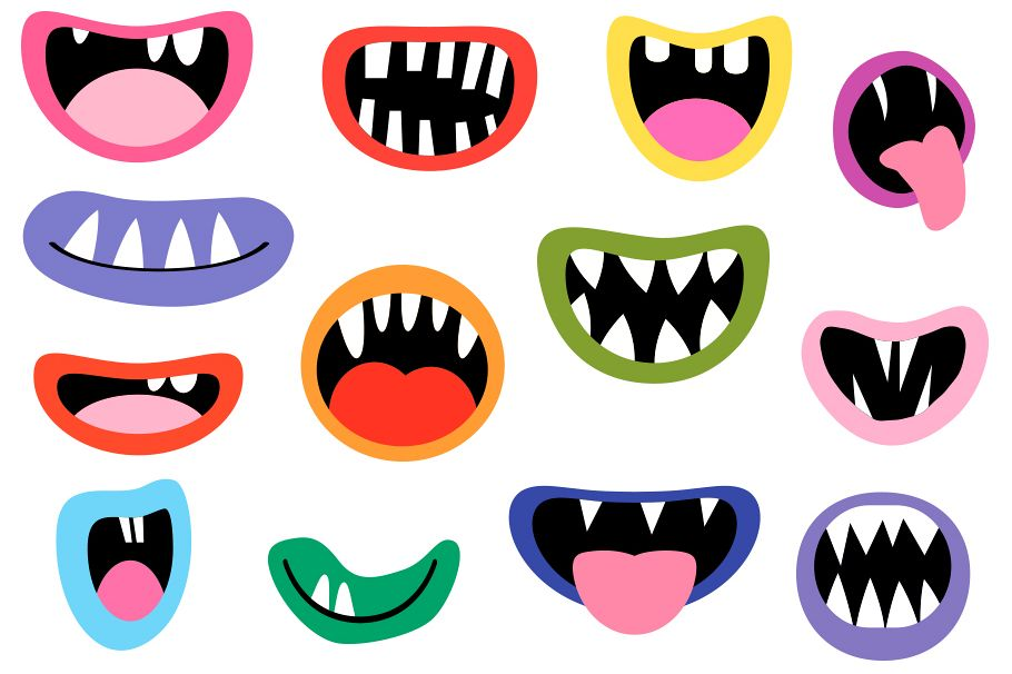 Zombie mouths