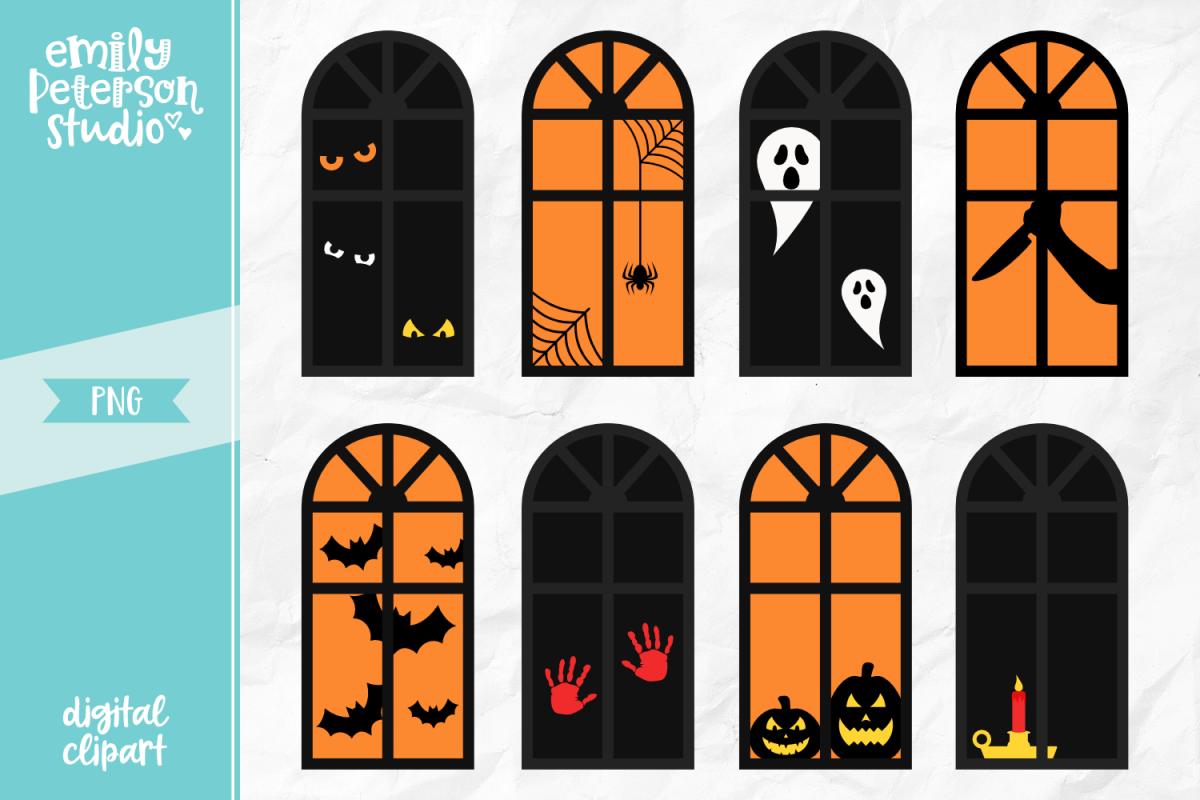 Halloween Window Shapes