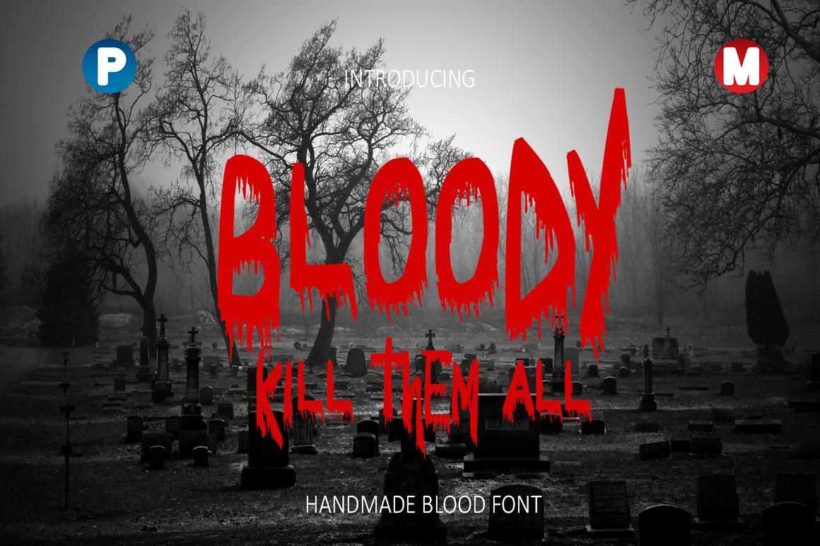 Bloody Font