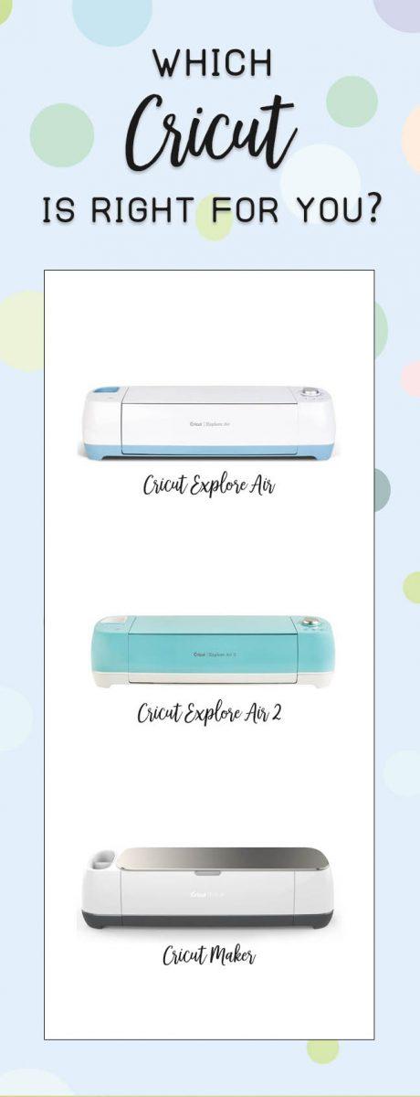 Which Cricut machine is right for you? Cricut Air, Cricut Air 2, Cricut Maker