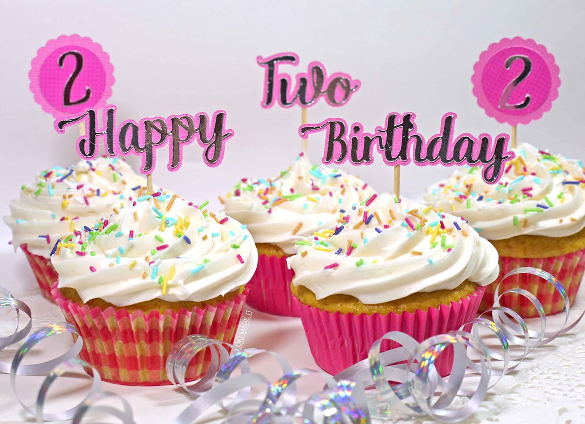 Birthday Cupcakes Crafting