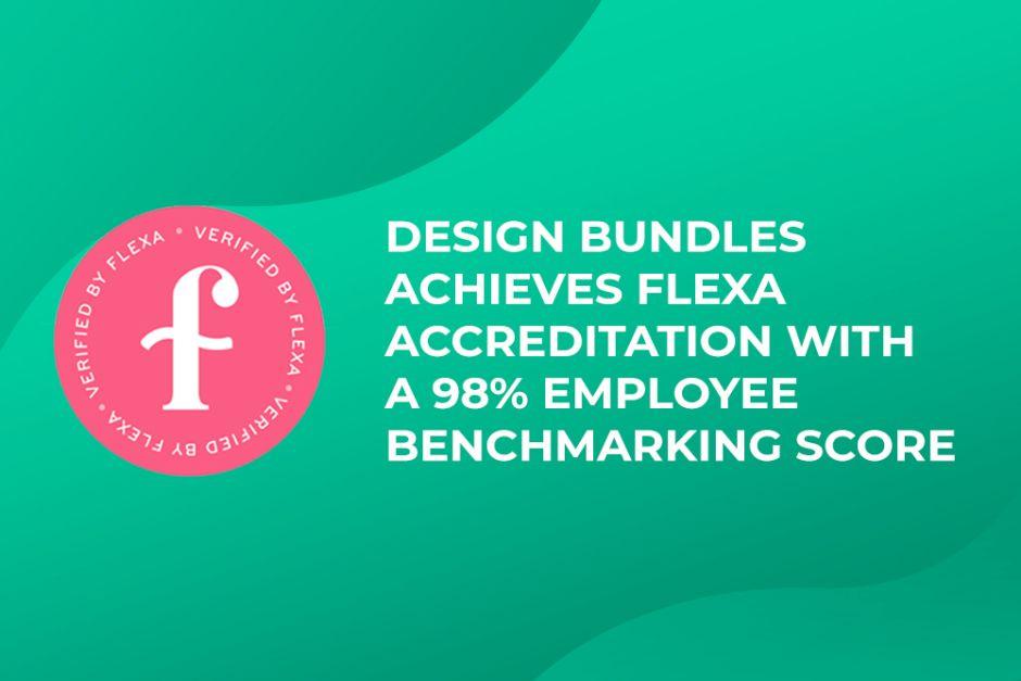Design Bundles Achieves Flexa Accreditation With a 98% Employee Benchmarking Score