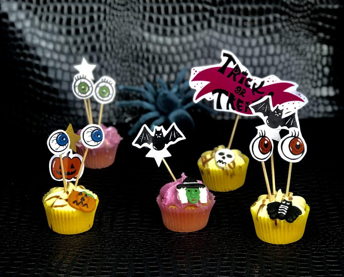 Halloween Cakes Using Design Bundles Graphics