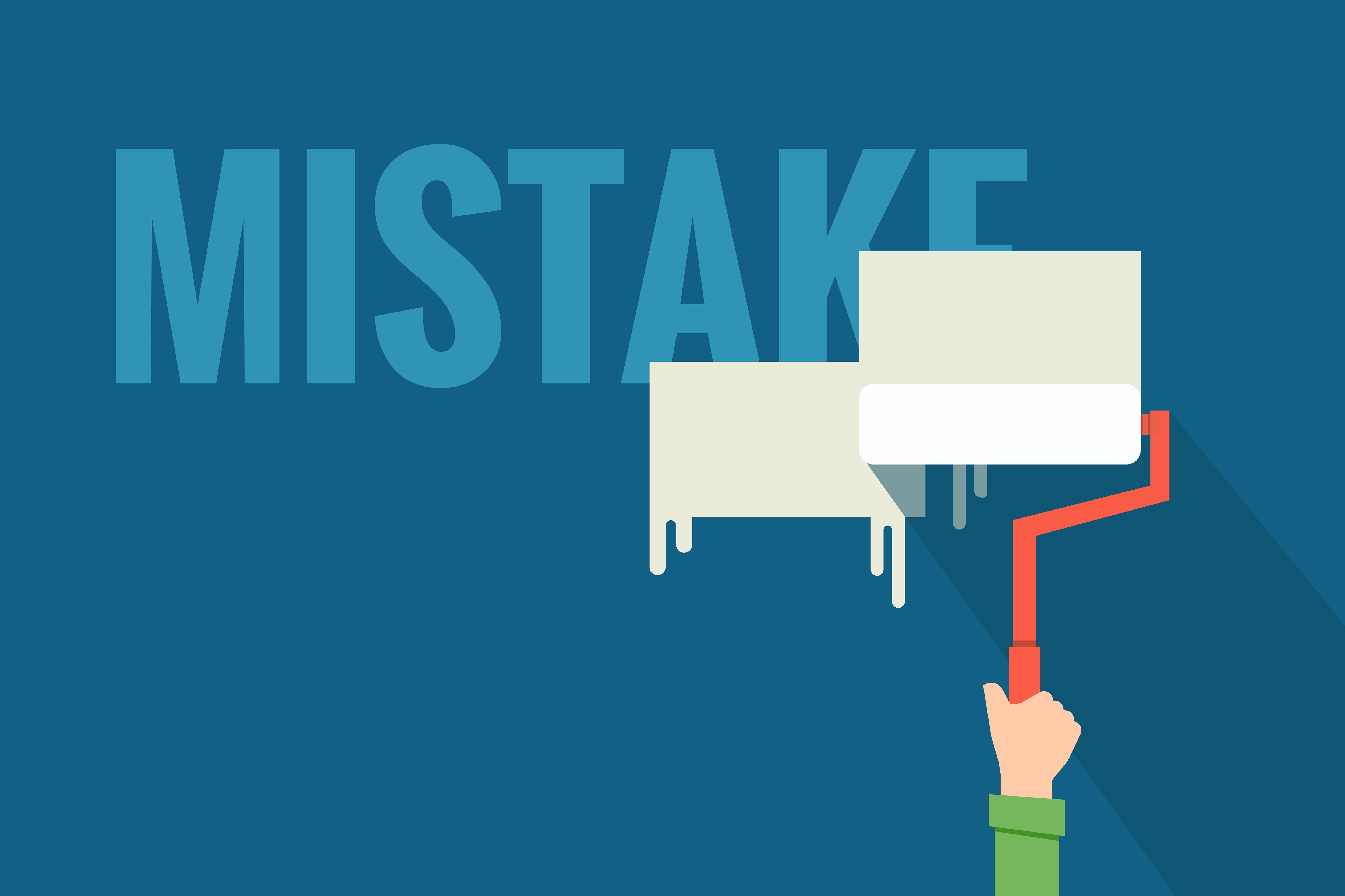 common design mistakes