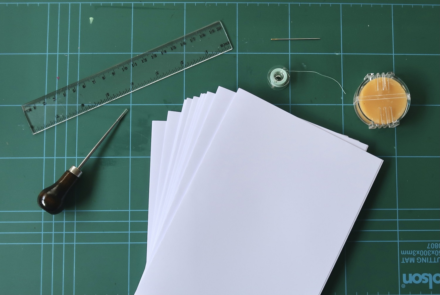Endangered & Traditional Crafts: How To Do a Bookbinding DIY 21