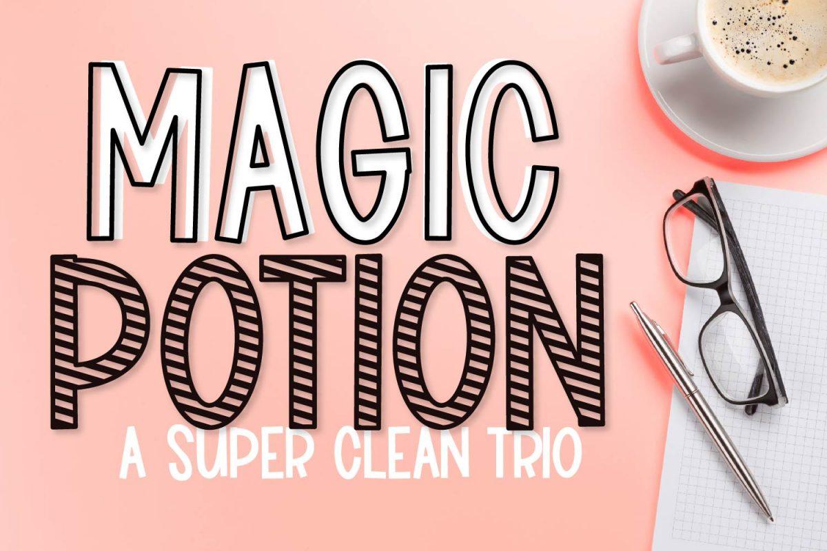Magic Potion Font