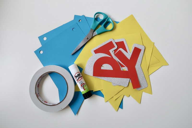 How to Make Your Own Bunting for Parties and Celebrations! 8