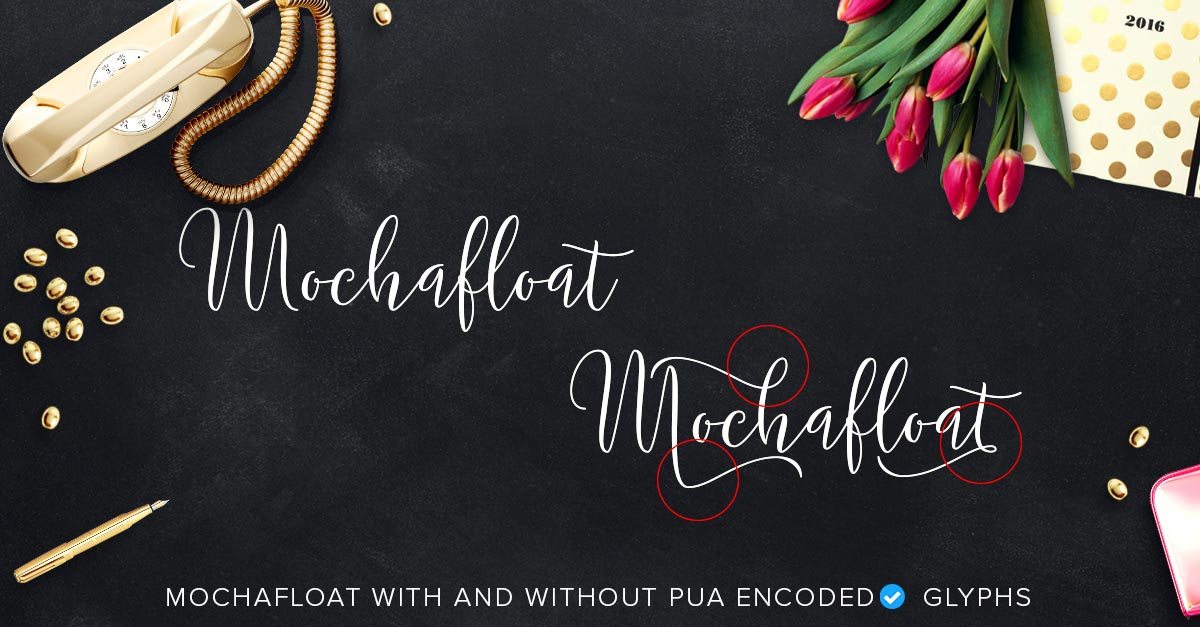 mochafloat with and without pua highlighted