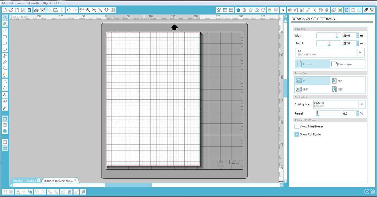 Open Silhouette Design