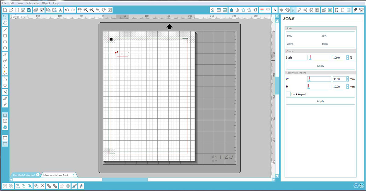 Measure your planner page