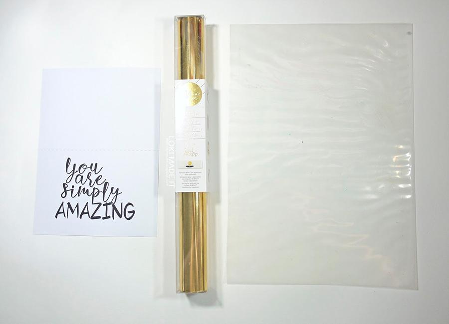 Design + Foil